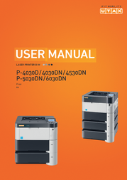 UTAX P-4530DN 4434500000 User Manual