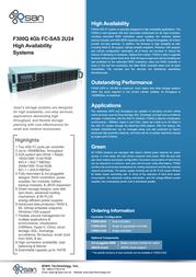 Qsan Technology AegisSAN F300Q F300Q-C224 Leaflet