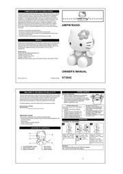Spectra Hello Kitty KT2042 Leaflet