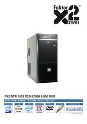 Faktor Zwei DTR 1552 810315 User Manual