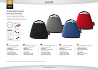 Vieta Audio VH-BS090BL Leaflet
