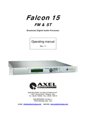 Falcon FM & ST Broadcast Digital Processor 15 User Manual