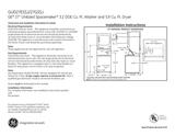 GE GUD27ESSJWW Specification Sheet