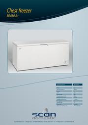 ScanDomestic SB 650 A+ SB650 A+ Folheto
