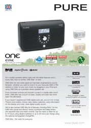 Pure ONE Elite VL-61038 Leaflet