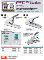 Max HD-3DF HD90899 Leaflet