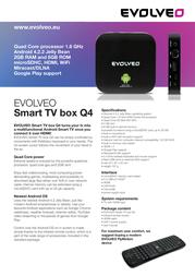 Evolveo Android Q4 SMTVB-Q4 Leaflet