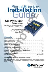 Wilson Electronics 304453 User Manual