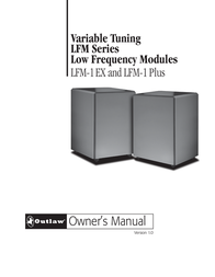 Outlaw Audio LFM-1EX User Manual