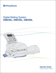 Pitney Bowes DM230L User Manual