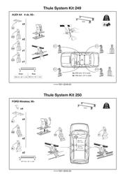 Audi 5354EF/501-0250-02 Leaflet
