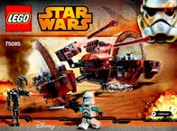 Lego Starwars LEGO® STAR WARS™ 75085 HAILFIRE DROID™ 75085 User Manual