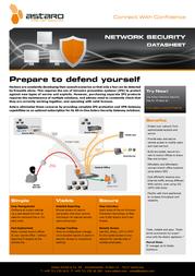 Astaro ASG Network Security, 500u, 1Y, SUB ASSN05001NS Leaflet