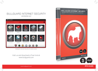 BullGuard Internet Security 9.0, 3u, 1Y, Jewel Case, Single Pack UKRT90121 Leaflet