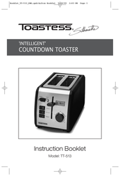 Toastess Intelligent Countdown TT-513 User Manual
