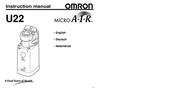 Omron Healthcare Micro A-I-R U22 User Manual