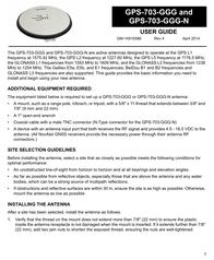 Novatel GPS-703-GGG-N User Manual