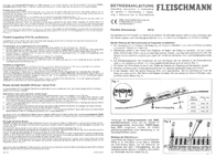 Fleischmann 6412 H0 6412 Data Sheet