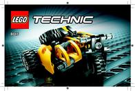 Lego Mini Telehandler Instruction Manual