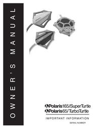 Polaris SUPER TURTLE 165 User Manual