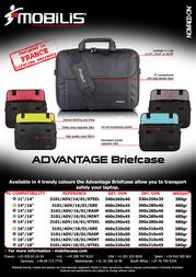 "Mobilis Advantage 14-16"" 3101/ADV/16/01/GRE Leaflet"