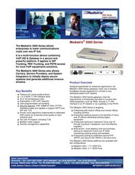 Mediatrix 3500 Brochura