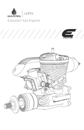 Evolution BENZIN-FLUGMOTOR 15GX2 EVOE15GX2 Data Sheet