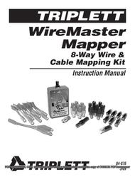Triplett WireMaster Mapper 3281 User Manual