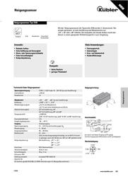 Kuebler Kübler 8.IS40.23321 IS40 Inclination Sensor Reading range(s) ± 60 ° 8.IS40.23321 Data Sheet