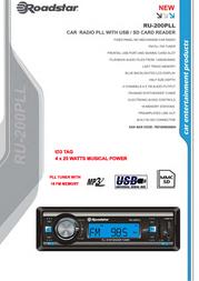 Roadstar RU-200PLL Leaflet