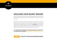 Keurig K350 Brewing System Instruction Manual