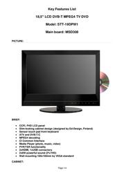 Saga STT-194DPW1 User Manual