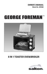 George Foreman GRV660 User Manual