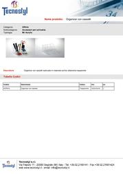 Tecnostyl ACR012 Leaflet