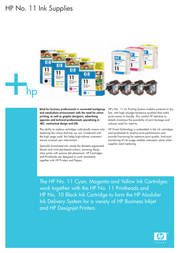 HP 11 C4838AE Leaflet
