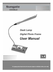 Sungale CD358LD User Manual