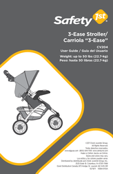 Safety 1st 3-Ease Stroller CV204AUM User Manual