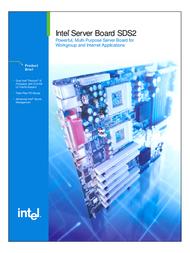 Intel SDS2 Dual FCPGA SW III HE-SL ATX 6GB SDS2 User Manual