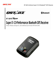 Qstarz bt-q818 extreme User Guide
