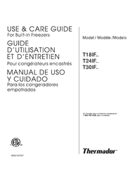 Thermador T18ID User Manual