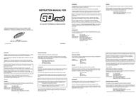 Datel Garantia ST15 0DG Leaflet