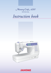 Janome 6500 User Manual