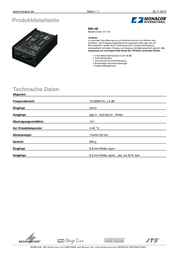IMG Stage Line DIB-100 DI-BOX 24.1140 Data Sheet
