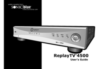 ReplayTV rtv4504 User Manual