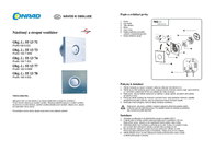 Protector Ventilation technology White ProAir 100 T-WW User Manual