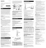 Sony AIR-PC10T Manuel