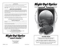 Night Owl Optics Nob5X Nexgen 50Mm Binoculars NOB5X User Manual