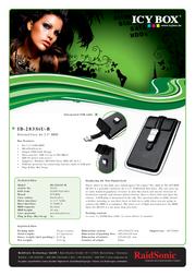 Raidsonic IB-283STU-B Leaflet