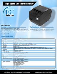 EC Line EC-PM-80320-U EC-80320-U Leaflet