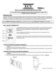 Elitegroup TRW-1 User Manual